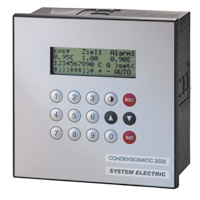 SYSTEM ELECTRIC: Reactive power controller, CONDENSOMATIC CR2020