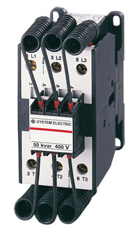SYSTEM ELECTRIC: Capacitor contactor