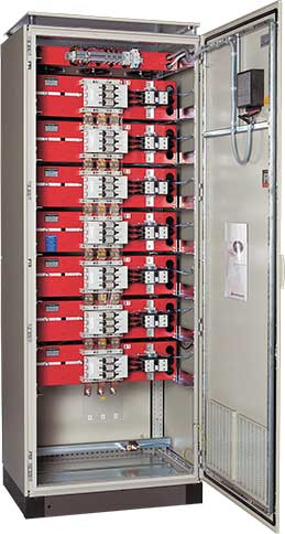 SYSTEM ELECTRIC: Automatic power factor correction system, ready for installation.