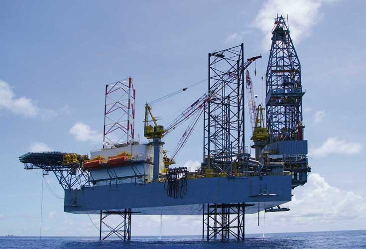 SYSTEM ELECTRIC relieve the on-board power system of this oil platform from harmonics